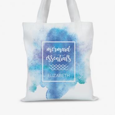 Mermaid Essentials Personalized Tote Bag