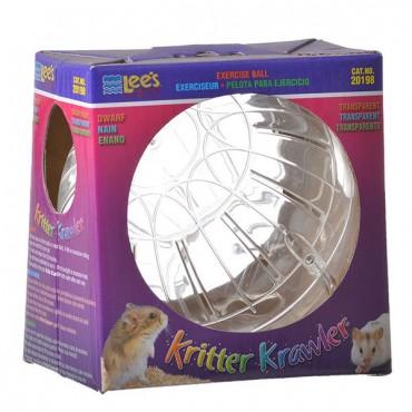 Lees Kritter Krawler - Clear - Mini - 3 in. Diameter - 2 Pieces