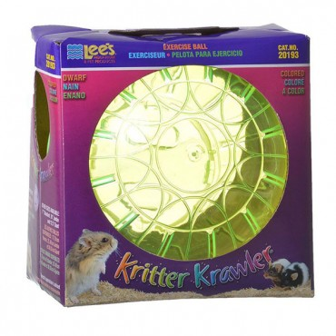 Lees Kritter Krawler - Assorted Colors - Mini - 3 in. Diameter - 2 Pieces