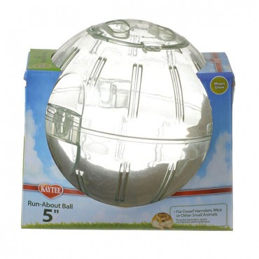 Kaytee Run-About Ball - Moon Glow - Mini - 5 in. Diameter