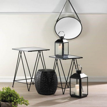 Modern Square Glass Tables