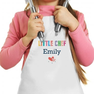 Mother Daughter Personalized Chef Apron Set