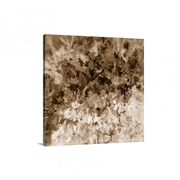 Pompeii Floral Wall Art - Canvas - Gallery Wrap