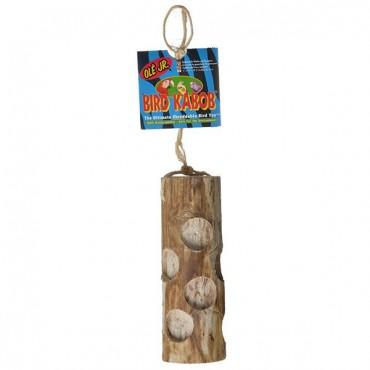 Wesco Pet Bird Kabob Bird Toy - Ole Junior - 7 in. Long x 2 in. Wide - 2 Pieces