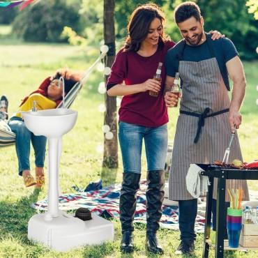 5 Gallon Portable Wash Sink Garden Camping Washing Station