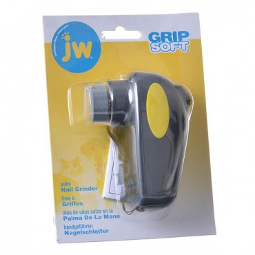 JW GripSoft Palm Nail Grinder for Dogs - Palm Nail Grinder - 4 in. Long