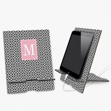Personalized Book and Ipad Stand