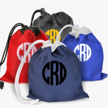 Personalized Mini Drawstring Cinch Pouch Bag