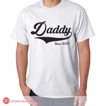 Personalized Dad and Grandpa T-shirts