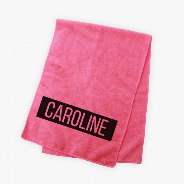 Personalized Kids Bright Microfiber Terry Sport Towel