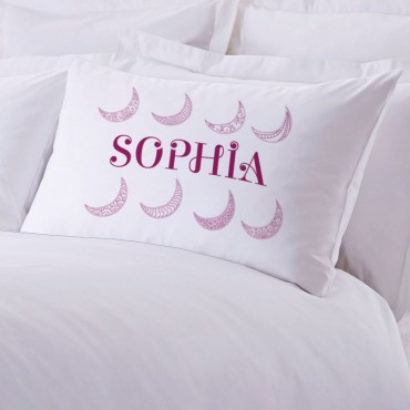 Personalized Moon In The Sky Pillowcase