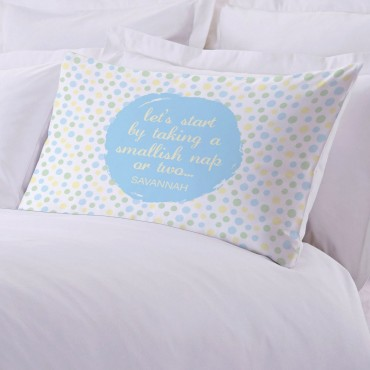Personalized Nap Time Pillowcase