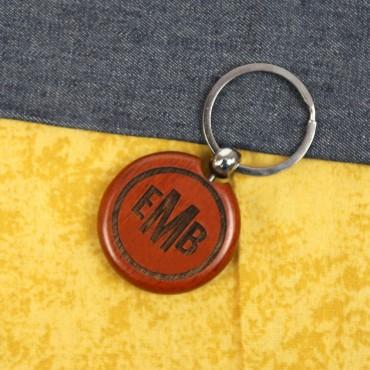 Personalized Round Keychain