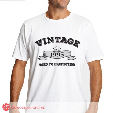Personalized Vintage Design T-Shirt