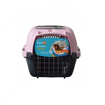 Aspen Pet Pet Porter - Pink - Pets up to 10 lbs 19 L x 12.6 W x 10 H
