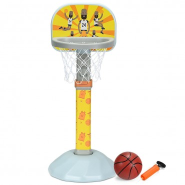 Kids Basketball Hoop Stand With Adjustable Height