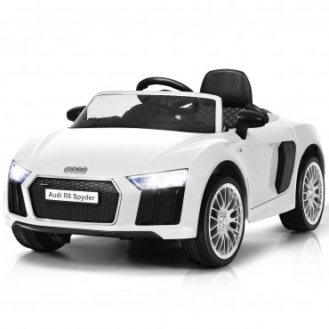 12 V Audi R8 Spyder Licensed Electric Kids Riding Car
