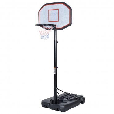In/Outdoor Adjustable Height Basketball Hoop