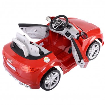 12 V Audi TTS Kids Ride On Car With MP3 + LED Lights + RC