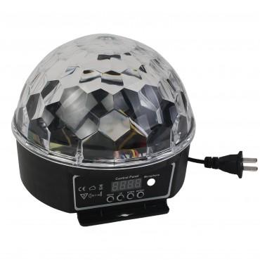 DMX512 Stage Lighting Digital LED RGB Crystal Magic Ball Disco DJ 2015 Light
