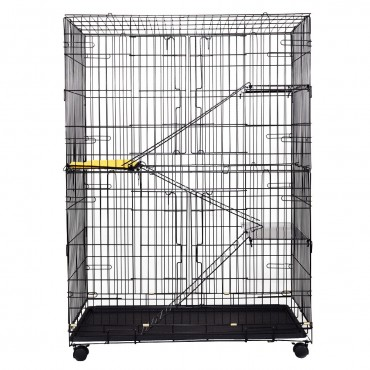 4-Tier Cat Playpen Cat Cage