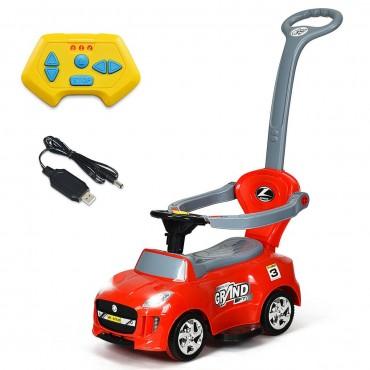 Kids Electric Ride On Car Toddler Push Car Stroller