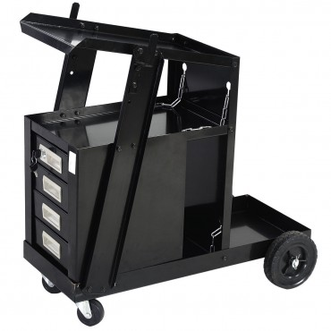 4 Drawer Cabinet Welding Cart Plasma Cutter