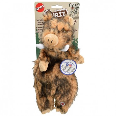 Spot Furze Boar Dog Toy - Regular - 13.5 in. - 1 Count - 2 Pieces