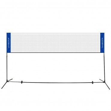 Portable 10 In. x 5 In. Badminton Beach Tennis Training Net