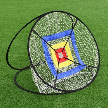 In/Outdoor Portable 37 In. Golf Training Practice Net W / Bag
