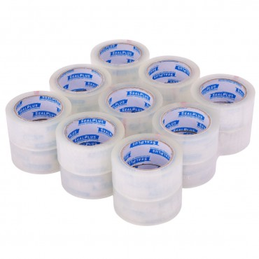 36 Rolls 1.9 In. x 110 Yards Carton Clear Sealing Tape