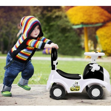 Sliding Pushing Children Car With Horn And Music