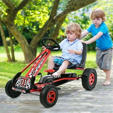 4 Wheels Kart Kids Ride On Pedal Bike