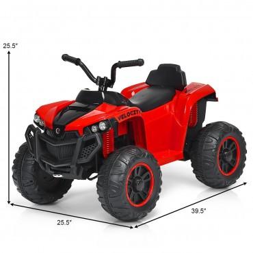 12V Kids 4 - Wheeler Quad ATV Battery Powered Ride On Toy