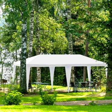 10 Ft. x 20 Ft. Canopy Tent Wedding Party Tent With Carry Bag