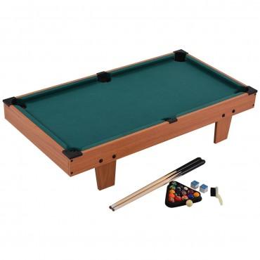 36 In. Indoor Mini Table Top Pool Table