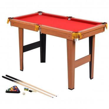 48 In. Mini Table Top Pool Table Game Billiard Set