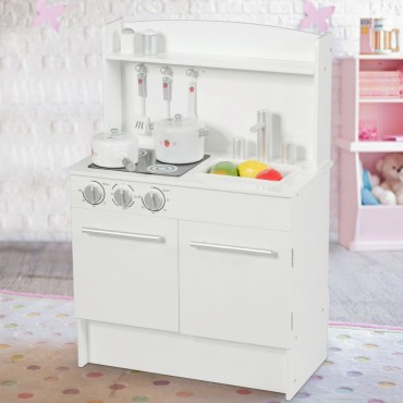 Kids Pretend Kitchen Play - Set Cooking Toys