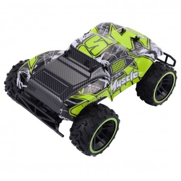 Green 1:12 2.4G RC Car Super High Speed Racing Car