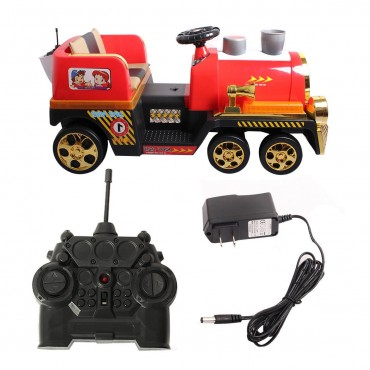 2.4 G Electric Kids Ride On Train W / Lights + MP3 + RC
