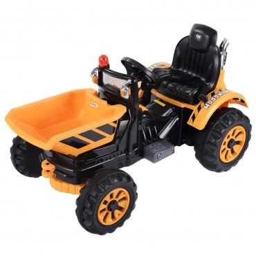 12 V Battery Powered Kids Ride On Dumper Truck With Dump Bucket