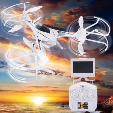 CX - 33S 2.4G 4CH 6 - Axis Gyro RC WIFI FPV Quadcopter