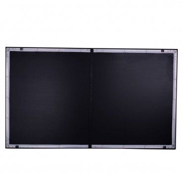 92 in. Aluminum Fixed Frame 16:9 Projector Screen