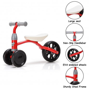 3 Wheels Kids Riding Toy Balance Walker Bike