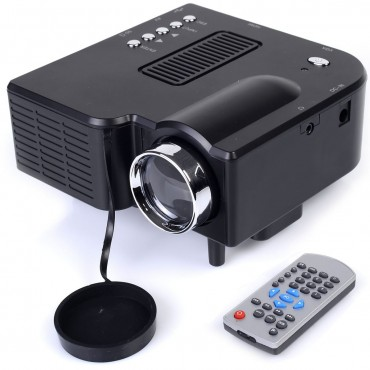 Home Cinema Theater Mini Portable HD LED Projector