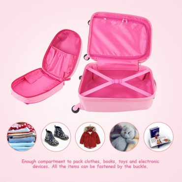 12 In. Backpack And 16 In. Rolling Suitcase Kids Luggage Set
