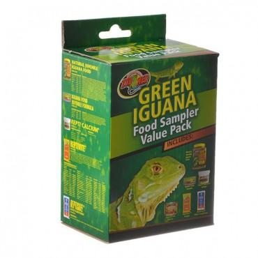 Zoo Med Green Iguana Foods Sampler Value Pack - Sampler Value Pack