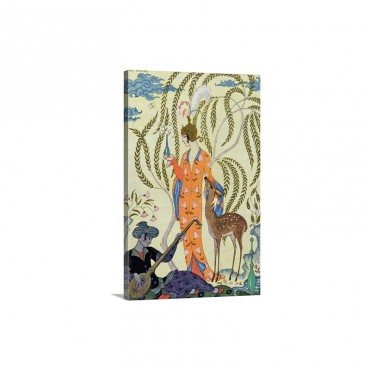 Persia, Illustration from The Art of Perfume, 1912 Wall Art - Canvas - Gallery Wrap