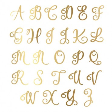 Script Monogram Journal