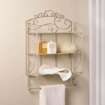 Scrollwork Display Wall Shelf